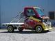 写真:クリッパー/ミニキャブ 4輪車高調出動