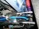写真:ハイゼットトラック(S500P/S510P)のフロントスタビ試作 難易度高いンです・・
